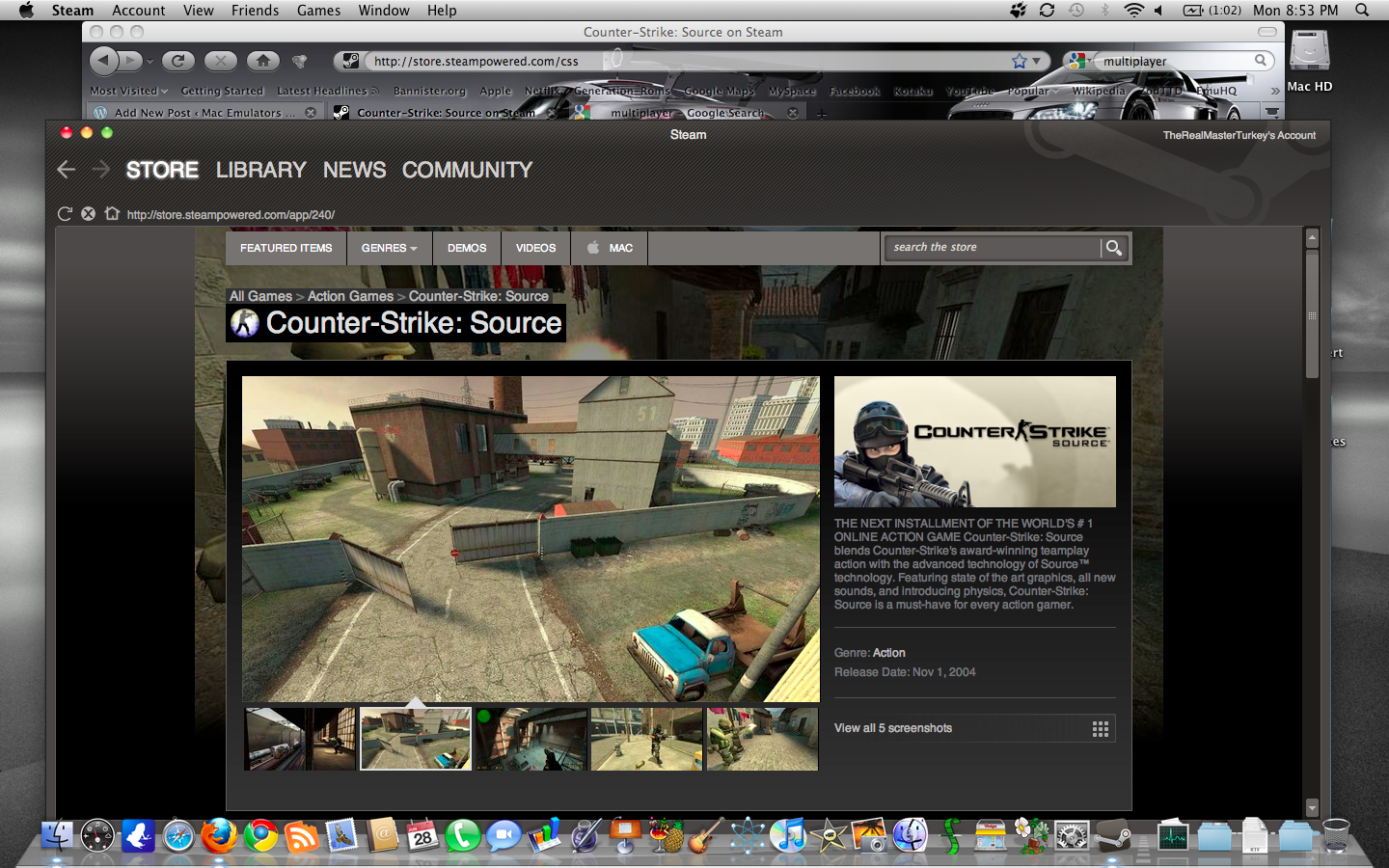 counter strike source for mac lion