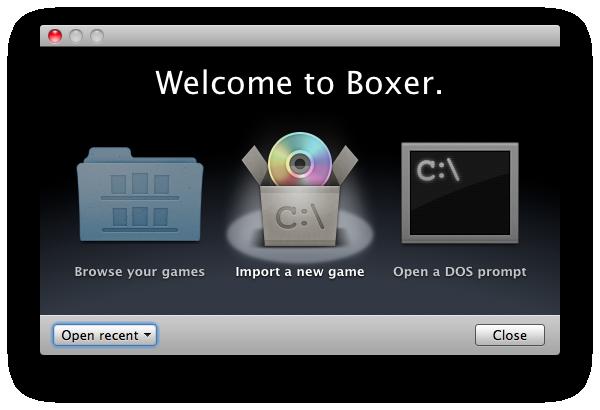 Boxer: The DOS Game Emulator   Mac Emulators Blog