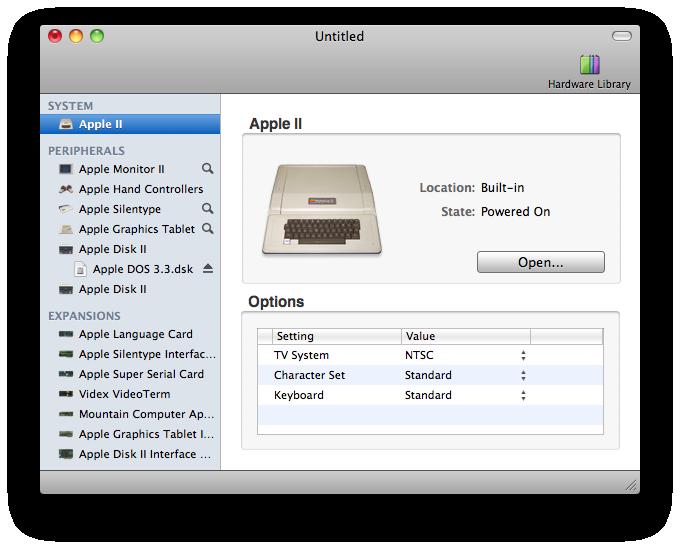 emulation mac: