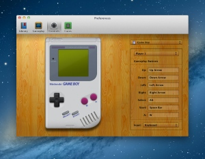 Gameboy Controller Preferences